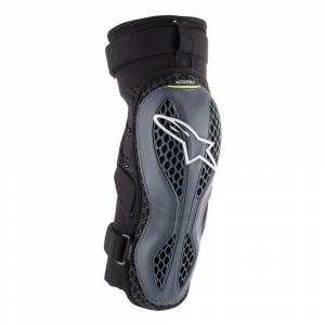 Alpinestars Sequence Anthracite Yellow Knee Guard