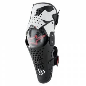 Alpinestars SX1 Black White Red Knee Guard
