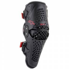 Alpinestars SX1 V2 Black Red Knee Guard