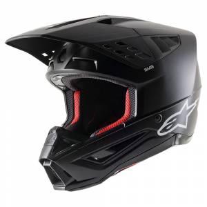 Alpinestars SM5 Solid Black Motocross Helmet