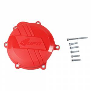 UFO Clutch Cover Protector Honda CRF 250 (10-17) Red