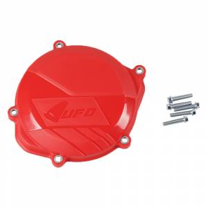 UFO Honda Clutch Cover Protector CRF 450R (09-16) Red
