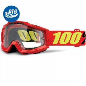 100% Accuri Saarinen Clear Lens OTG Goggles