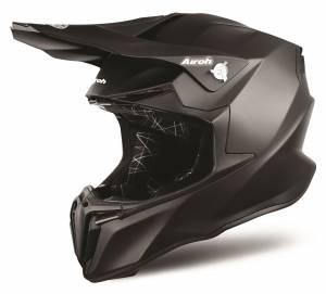 Airoh Twist Plain Black Motocross Helmet