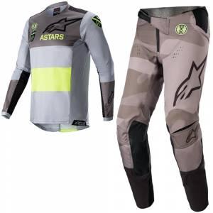 Alpinestars Kids Racer Limited Edition AMS 21 Motocross Kit Combo