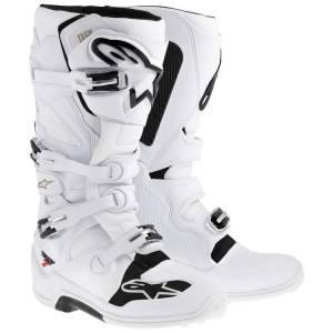 Alpinestars Tech 7 White Motocross Boots