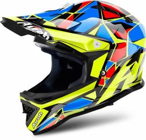 Airoh Kids Archer Chief Blue Motocross Helmet