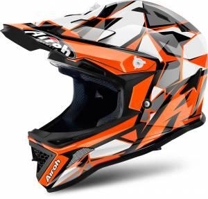 Airoh Kids Archer Chief Orange Motocross Helmet