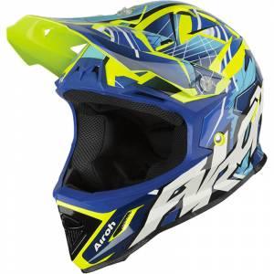 Airoh Kids Archer Bump Blue Motocross Helmet