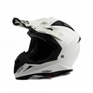 Airoh Aviator 2.2 Plain White Motocross Helmet