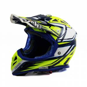 Airoh Aviator 2.2 Restyle Yellow Motocross Helmet
