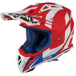 Airoh Aviator 2.3 Bigger Red Motocross Helmet