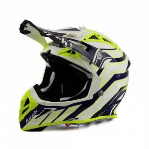 Airoh Aviator Ace Art MX Helmet Blue