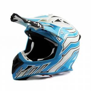 Airoh Aviator Ace Art Azure Motocross Helmet