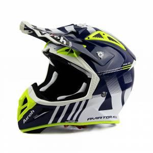 Airoh Aviator Ace Nemesi Blue Motocross Helmet