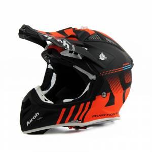 Airoh Aviator Ace Nemesi Orange Motocross Helmet