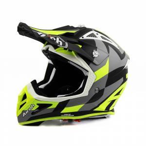 Airoh Aviator Ace Trick Yellow Motocross Helmet