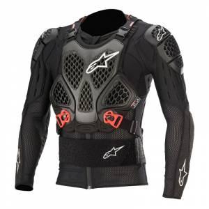 Alpinestars Bionic Tech V2 Black Red Protection Jacket