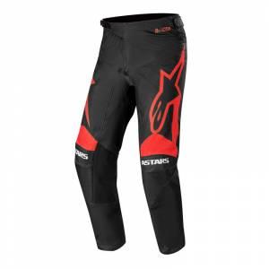 Alpinestars Racer Supermatic Black Bright Red Motocross Pants