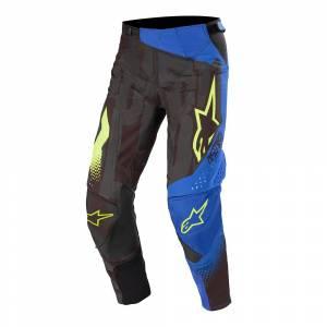 Alpinestars Techstar Factory Black Dark Blue Yellow Fluo Motocross Pants