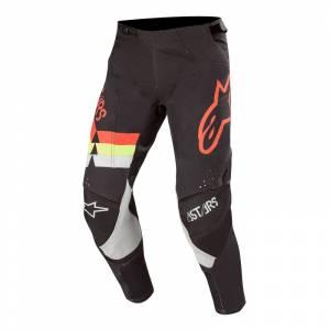 Alpinestars Techstar Venom Black Red Fluo Yellow Fluo Motocross Pants