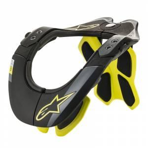 Alpinestars Bionic Tech 2 Black Fluo Yellow Neck Support