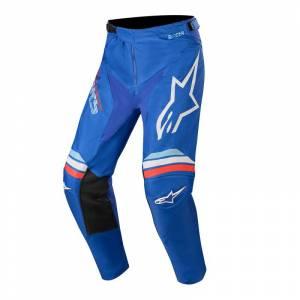Alpinestars Racer Braap Blue Off White Motocross Pants
