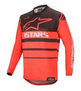 Alpinestars Racer Supermatic Bright Red Black Motocross Jersey