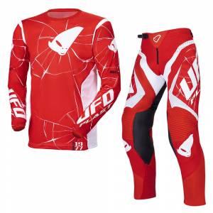 UFO Bullet Red Motocross Kit Combo