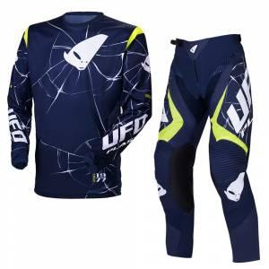 UFO Bullet Blue Yellow Motocross Kit Combo