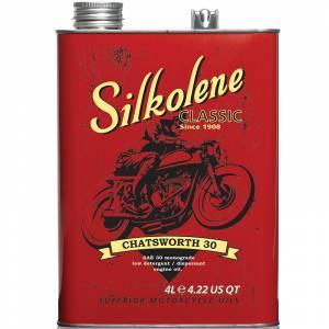 Silkolene Chatsworth SAE 30 4 Litre Classic Tin