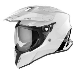 Airoh Commander White Gloss Adventure Helmet