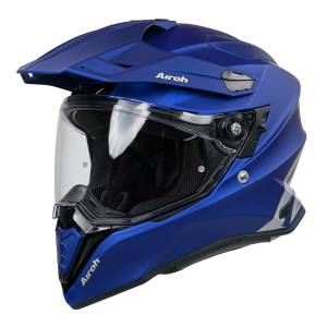 Airoh Commander Blue Dual Sport Helmet