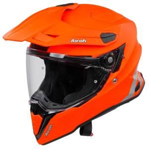 Airoh Commander Orange Fluo Matt Adventure Helmet