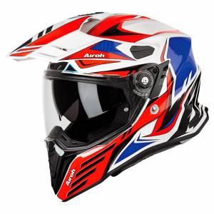Airoh Commander Carbon Red Dual Sport Helmet