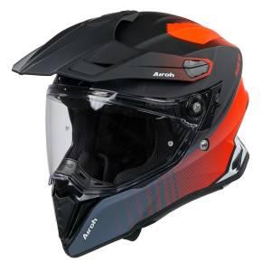 Airoh Commander Progress Orange Matt Adventure Helmet