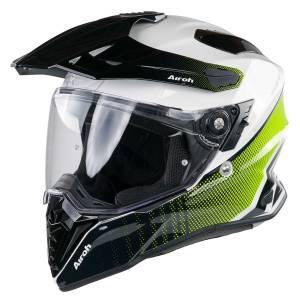 Airoh Commander Progress Lime Dual Sport Helmet