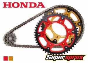 Honda DID Chain And Gold Stealth Sprocket Kit