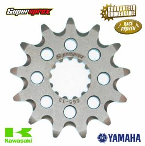 Supersprox Front Grooved Sprocket Yamaha YZ YZF WRF Kawasaki KX (CST-565)