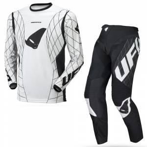 UFO Deepspace White Motocross Kit Combo