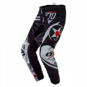 ONeal Element Warhawk Black Grey Motocross Pants