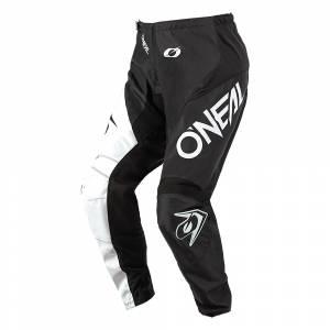 ONeal Element Racewear Black White Motocross Pants
