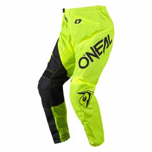 ONeal Element Racewear Neon Yellow Black Motocross Pants