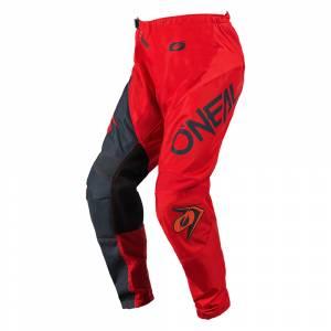 ONeal Element Racewear Red Grey Motocross Pants