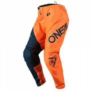 ONeal Element Racewear Orange Blue Motocross Pants
