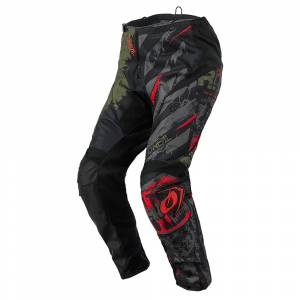 ONeal Element Ride Black Green Motocross Pants