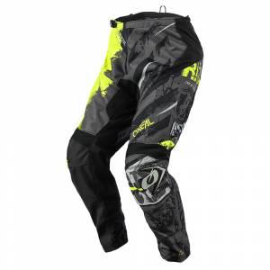 ONeal Element Ride Black Neon Yellow Motocross Pants