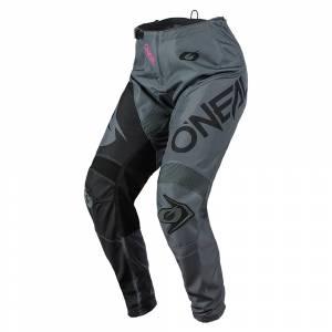 ONeal Element Racewear Grey Pink Women's Motocross Pants