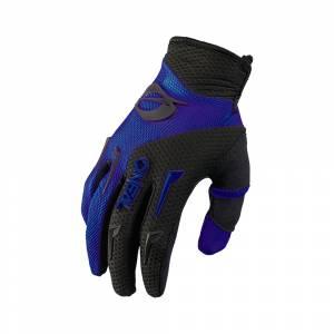 ONeal Element Blue Black Motocross Gloves
