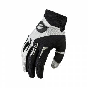 ONeal Element Grey Black Motocross Gloves